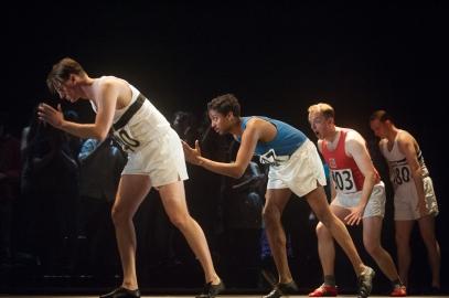 ZATOPEK! Emily Howard (music) Selma Dimitrijevic (libretto) (photo Mark McNulty)